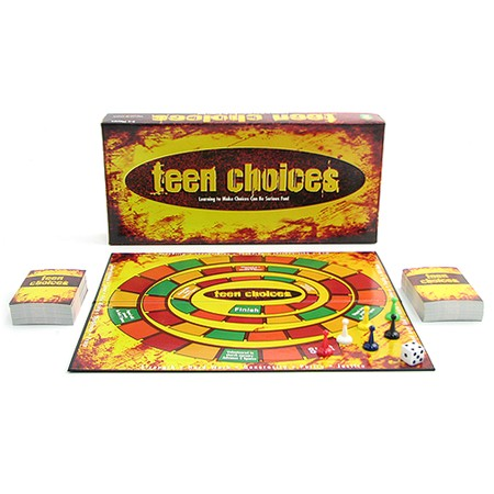 Fun for two to four players, ages 12 and up. The New Teen Choices Game