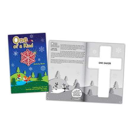 religious Christmas Activity Book for kids
