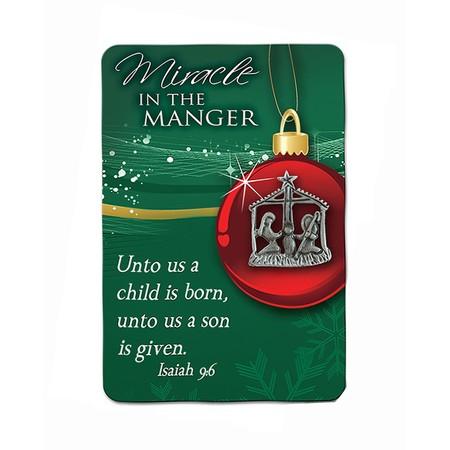 Nativity Pin carded