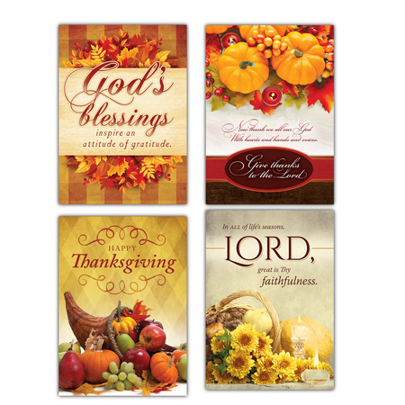 Box of 12 Christian Thanksgiving Cards
