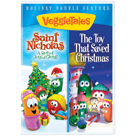 VeggieTales Christmas movie double set