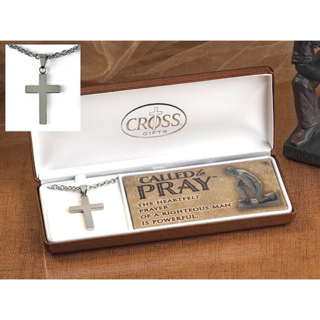 Called to Pray Mens necklace
