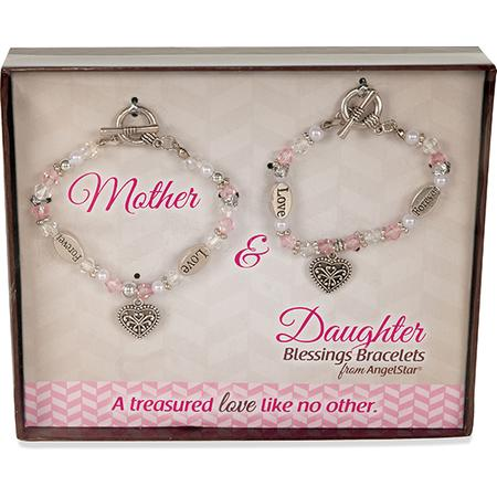 Mother and Daughter matching bracelets