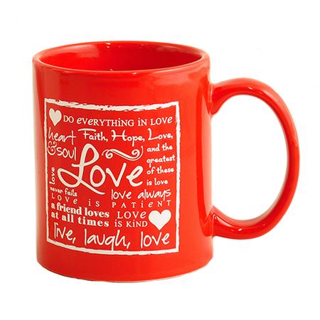 Christian Valentine Coffee mug