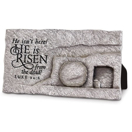 He is Risen Easter home decor