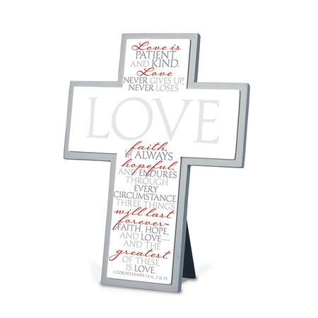 Love Bible verse Cross gift