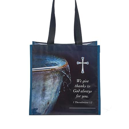 Christian thank you shopping bag
