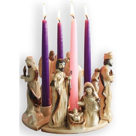 Advent wreath Christian Christmas Home decorations
