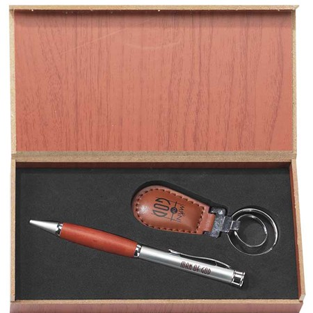 Man of God Pen and Key ring Gift Set